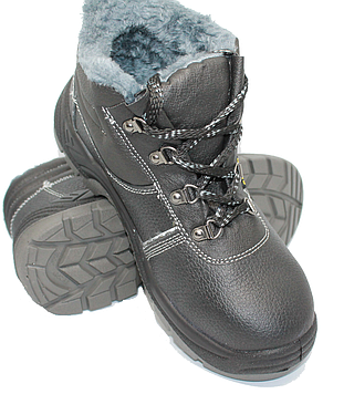 Ботинки рабочие зимние с металлическим носком