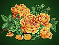"""Схема для вишивання бісером на атласі """"Аромат троянди"""""""