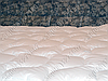 Одеяло 140х205 холлофайбер теплое Merkys белый поплин, фото 2