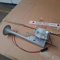 Сигнал звуковой MrHorn Дудка с мощным компрессором 12V Громкий басистый звук