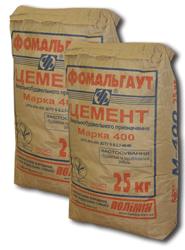 Цемент М-500 ПЦ I палети Полімін 50шт/пал.