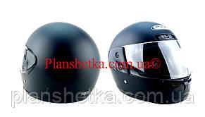 Шолом для мотоцикла Hel-Met 101 чорний мат