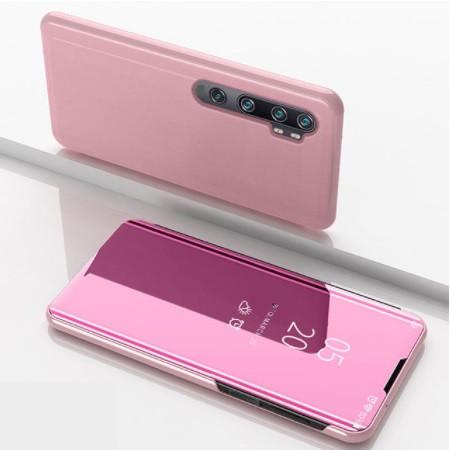 Чехол Mirror для Oppo A91 2020 книжка зеркальная Розовый
