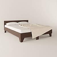 Двухспальная кровать + основание КР-16 ДСП Венге магия 164х204х66.5 см
