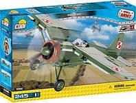 Конструктор Cobi Друга Світова Війна Літак PZL P.11C (Cobi-5516), 245 деталей.