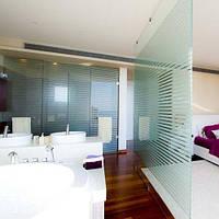 Тонировочная декоративная плёнка Armolan Полоса для стеклянных перегородок ширина 0,92 м