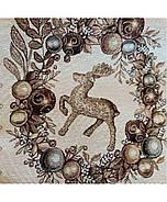 Скатерть Прованс Золотые праздники 130х140, фото 2