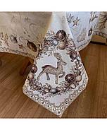 Скатерть Прованс Золотые праздники 130х140, фото 3