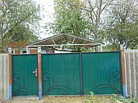 Ворота з профнастилу, В-77