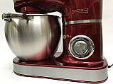 Кухонный комбайн, тестомес, блендер 3 в 1 Royalty Line Red RL-PKM-2200.472.9, фото 7