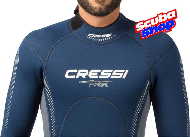 Гідрокостюм чоловічий Cressi Fast 3 мм для дайвінгу