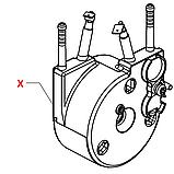 11013735 J-бойлер, 230V, 1300W, під хомут, проточний, однотеновий, h=34mm, фото 3