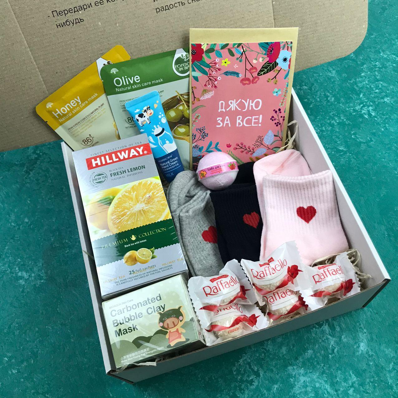 Подарочный Набор City-A Box Бокс для Любимой Женщины из 11 ед №2477