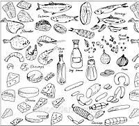 Листы для рыбы, колбасы, сыра 280х330, белые жиростойкие, 30 г/м2, 1+0 (4,8 кг/1700 листов)