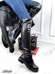 Ботфорты зимние Lilin Shoes, браслет камни 41 размеры