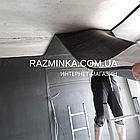 Каучук листовой 6мм, рулон 30м² (обесшумка), фото 6