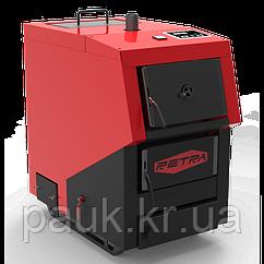 Твердотопливный котел 40 кВт Retra Light Plus, водогрейный бытовой котел