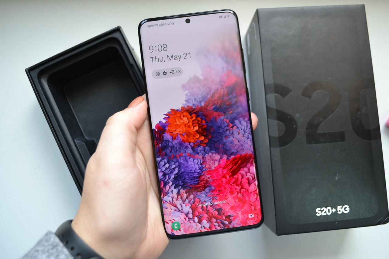 Samsung Galaxy S20+ Plus 5G 12/128Gb SM-G986U Cosmic Black Оригінал!