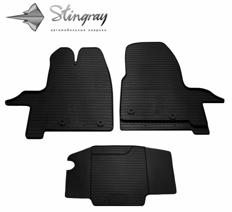 Коврики в салон Ford Tourneo Custom 2012- / резиновые коврики Stingray