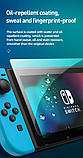 Комплект плівка HORI + накладки на стіки для Nintendo Switch, фото 8