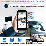 Беспроводной комплект видеонаблюдения UKC на 4 Wi-Fi камеры 2МП, NVR 4K KIT WiFi, Гарантия!, фото 4