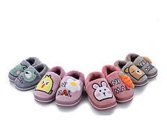 Детские меховые тапочки комнатные для дома домашние тапки 24-29р 4321