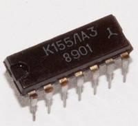 Микросхема К155ЛА3