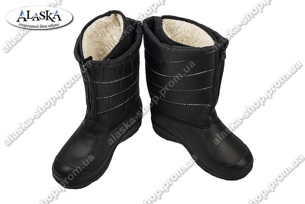 Женские сапоги(Код: М-22 черный)