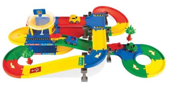 Гараж с дорогой Play Tracks Garage Wader 5,5 м (53140)