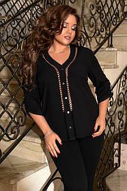 Стильная Блузка Большого Размера, Блузка женская большого размера