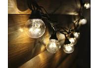 Гирлянда - маленькие лампочки Led Galaxy Bulb String / 10 метров 50 ламп (расстояние между лампами 20см)