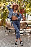 S133/7 Женские джинсы-бананы классика, фото 2