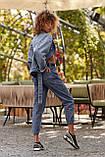 S133/7 Женские джинсы-бананы классика, фото 3
