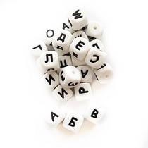 Буквы (силиконовые бусины)