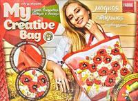 Вышивка гладью и лентами My creative bag Маки , бузок Danko Toys МСВ 01 01 02