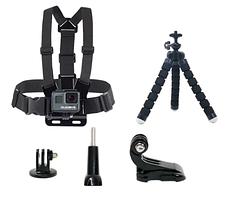 Набір аксесуарів Duszake для екшн-камер Gopro hero 6, SJCAM SJ400 SJ5000 SJ6000 SJ7000, Xiaomi Yi 4K, EKEN H9