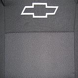 Чехлы Chevrolet Cruze (Шевроле Круз) 2008+ год. Модельные авто чехлы Prestige (комплект) Темно-серые, фото 2