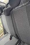 Чехлы Chevrolet Cruze (Шевроле Круз) 2008+ год. Модельные авто чехлы Prestige (комплект) Темно-серые, фото 5