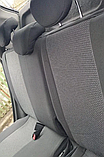 Чехлы Chevrolet Lanos 1997г+ Качественные авто чехлы Шевроле Ланос. Ткань жаккард. Prestige, фото 5