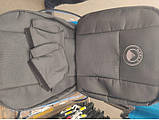 Чехлы в салон для GEELY GC6 / MK2 c 2014  модельные Prestige ЭКОНОМ (комплект) Темно-серые, фото 4