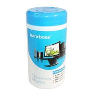 Салфетки чистящие Handboss для оргтехники туба
