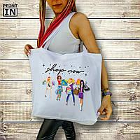 Печать на сумке для покупок Fashion с дном, фото 1