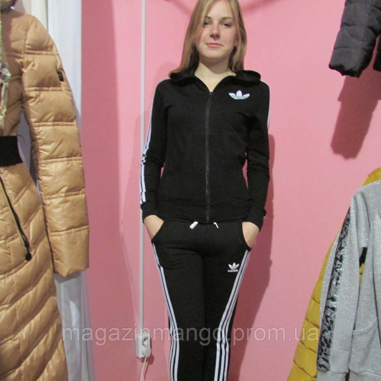 Спортивный костюм адидас женский черный