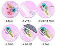 Сухоцветы для дизайна ногтей, фото 3