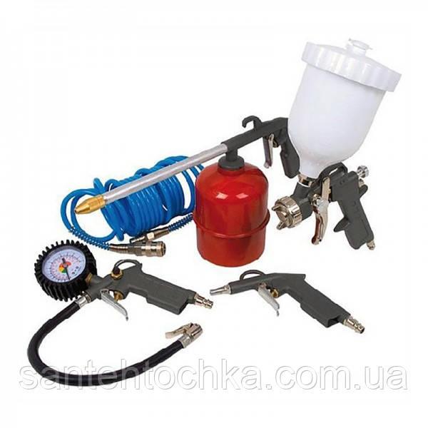 Набор пневмоинструмента к компрессору 5 в 1