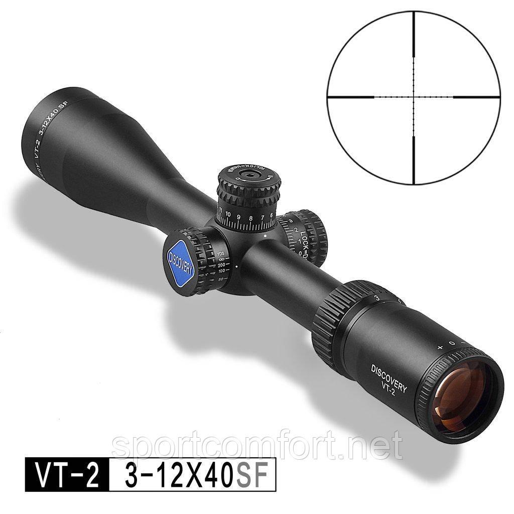 Прицел оптический VT-2 3-12X40 SF