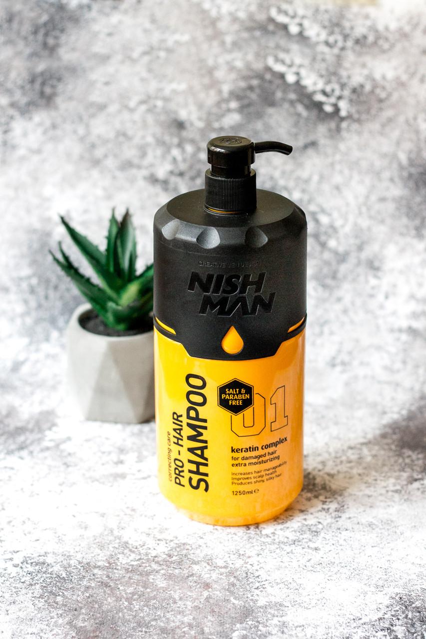 Шампунь Nishman Shampoo Pro KERATIN 1,25 Л