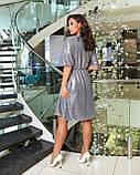 Платье вечернее серебро, фото 2
