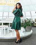 Сукня вечірня смарагд, фото 2