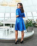 Сукня вечірня електрик, фото 2